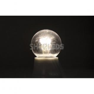 Neon-Night Лампа шар e27 6 LED ∅45мм - белая, прозрачная колба, эффект лампы накаливания