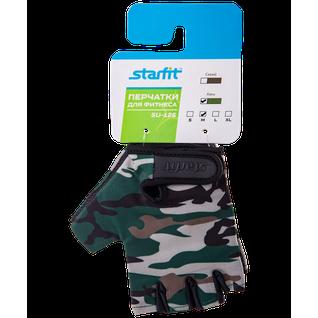 Перчатки для фитнеса Starfit Su-126, хаки размер XL