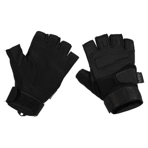 MFH Перчатки-митенки MFH Protect, цвет черный 5037558