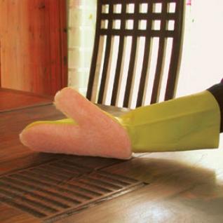 Хозяйственные перчатки и рукавицы Duramitt Рукавица с мягкой полирующей губкой NW-PAM