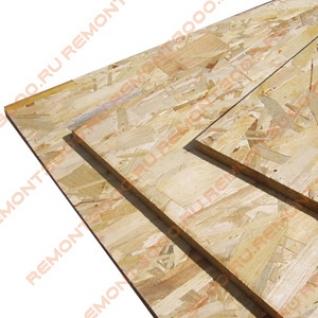 OSB-3/ОCБ-3 лист 2440х1220х22мм (2,98м2) / OSB-3 Ориентированно-стружечная плита влагостойкая 2440х1220х22мм (2,98м2)