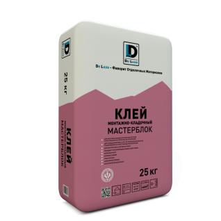 """Клей монтажный """"Мастерблок"""" De Luxe 25 кг"""