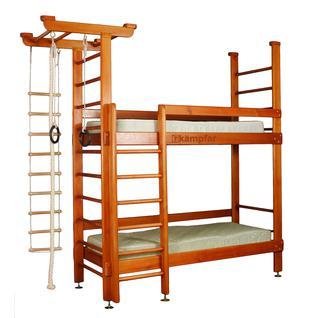 KAMPFER Детская мебель Kampfer Two dream №4 Вишневый Стандарт