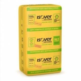 Теплоизоляция Изовер Классик плита 610х1170х100 мм /7шт/5 м2/0,5 м3 в уп/ (40 шт на поддоне)