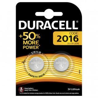 Батарейки DURАCELL CR2016-2BL литий бл/2шт