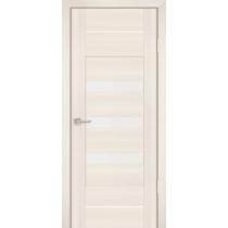 Дверное полотно Profilo Porte PS-18 Цвет Дуб перламутровый, Мокко, Белый сатинат