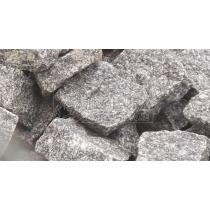 Жежелевская колотая брусчатка (100х100х50 мм)