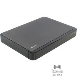 Qnap QNAP HS-251 Сетевой RAID-накопитель, 2 отсека для HDD, пассивное охлаждение, HDMI-порт. Intel Celeron J1800 2,41 ГГц