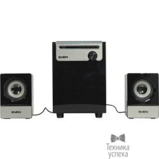Sven SVEN MS-110 черный Воспроизведение музыки с USB flash и SD card памяти