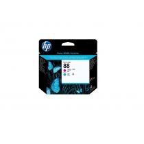 Оригинальная печатающая головка C9382A для принтеров HP Designjet T1120 HD, T1120 SD, T1200, пурпурный и голубой 8763-01 Hewlett-Packard