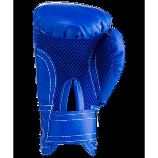 Набор для бокса Rusco, 6oz, кожзам, синий