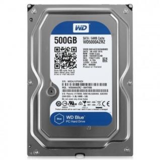 Жесткий диск WD Original SATA-III 500Gb Blue (WD5000AZRZ)