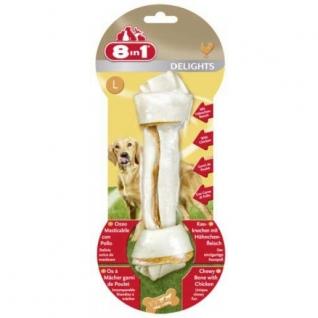 8in1 8in1 DELIGHTS L косточка для крупных собак 21 см