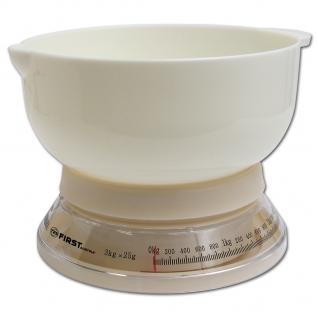 Кухонные весы First FA-6421 White