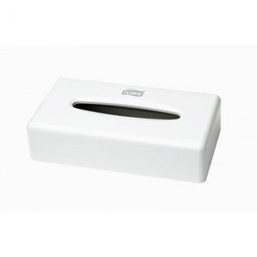 Диспенсер для салфеток косметических Tork F1 270023 пласт.белый 40109649