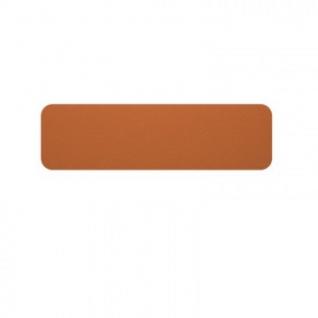 Офисные перегородки EasyAux ZEN шумопоглощающая на стол 1400х400, оранжевый