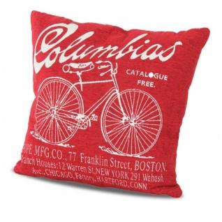Подушка декоративная Columbias красная