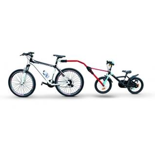 Прицепное устройство PERUZZO Trail Angel детского велосипеда к взрослому красное Peruzzo