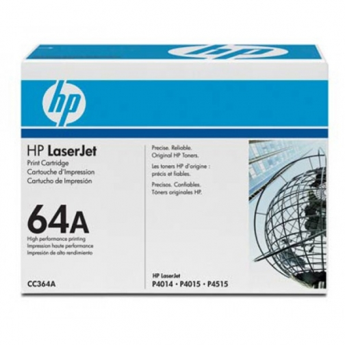 Картридж CC364A №64A для HP LJ P4014, 4015, 4515 (черный, 10000 стр.) 722-01 Hewlett-Packard 852597 1