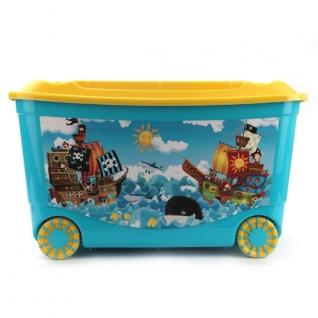 """Ящик для игрушек на колесах """"Пластишка"""" Бытпласт"""
