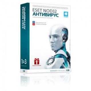 Антивирус ESET NOD32 + Bonus(3ПК/1г) NOD32-ENA-1220(BOX)-1-1