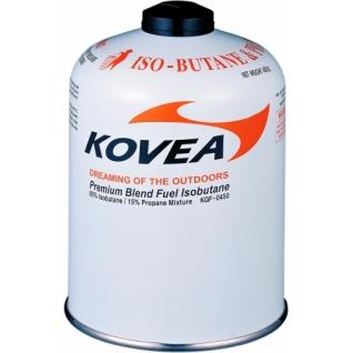 Баллон газовый резьбовой Kovea 450 изобутан/пропан/бутан 72/22/6 (KGF-0450)
