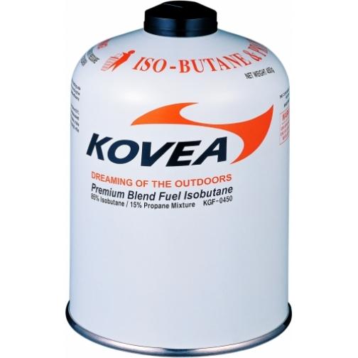 Баллон газовый резьбовой Kovea 450 изобутан/пропан/бутан 72/22/6 (KGF-0450) 36971662