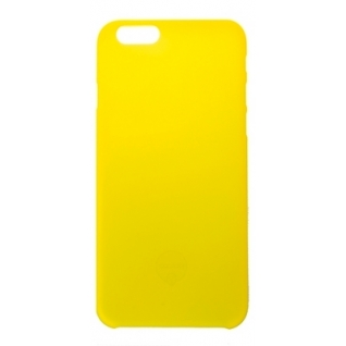 Чехол на заднюю крышку Ozaki O!Coat 0.3 Jelly для iPhone 6/6S, цвет Yellow (OC555YL)