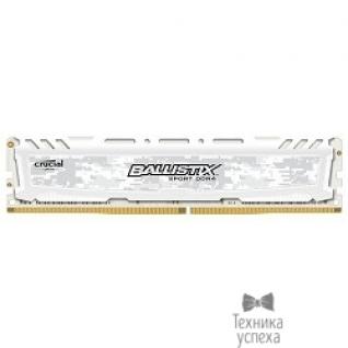 Crucial Crucial DDR4 DIMM 8GB BLS8G4D240FSCK PC4-19200, 2400MHz, CL16, Sport LT White