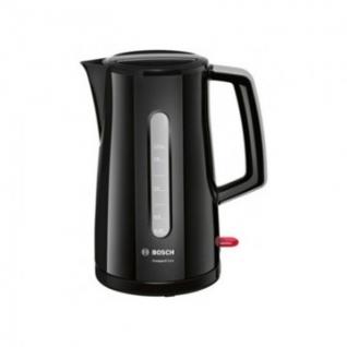 Чайник Bosch TWK 3A013 1.7л 2400Вт черн.