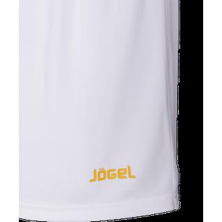 Шорты баскетбольные Jögel Jbs-1120-014, белый/желтый, детский размер YS