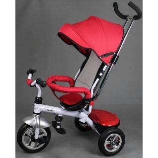Трехколесный велосипед Tommy Easy Run red - красный