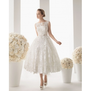 Платье свадебное  Короткие свадебные платья⇨Жанетта
