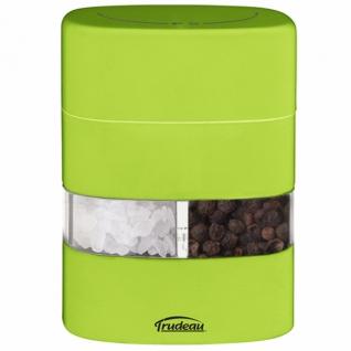 Кухонные аксессуары. Открывалки. Trudeau Corp. Меленка 2 в 1 (солонка+перечница) зеленая NW-S+P-Gr