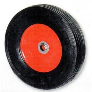 Колесо для тележки SR 1900, непов, литая резина, без торм, 250мм