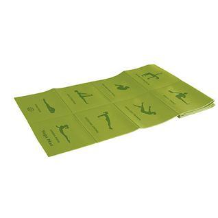 Коврик для йоги складной Liteweights 173*61*0,5см 5455lw, салатовый Lite Weights