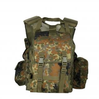 MMB Жилет тактический Special Force, камуфляж флектарн