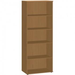 Мебель ЭКО Стеллаж высокий 1002 (738) бук
