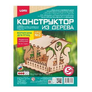 Сборная модель деревянная Кормушка для птиц. Фн-007