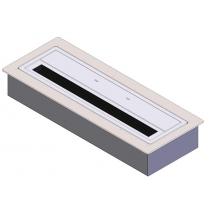 Tопливный блок DP design Elegante 40 см + термоплощадка DP design