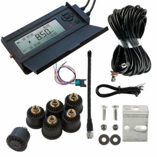 Cистема контроля давления в шинах ParkMaster TPMS 6-13 (дисплей, 6 внешних датчиков) (+ Салфетки из микрофибры в подарок)