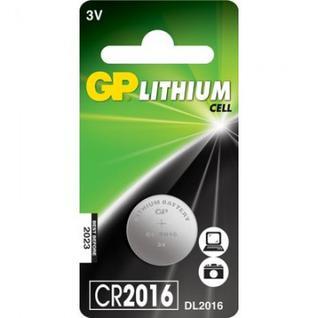 Батарейки GP CR2016, 3V, литий, бл/1шт