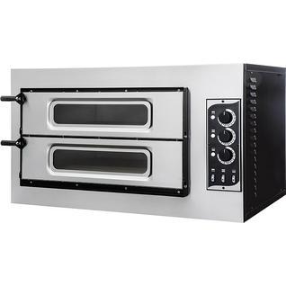 GEMLUX Печь для пиццы GEMLUX GEP 2/50 VETRO