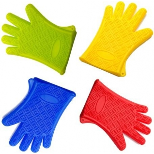 Прихватка-перчатка силиконовая 27х18 см Mayer&Boch