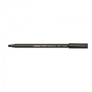 Фломастер для каллиграфии Edding E-1255 calligraphy pen 5.0 чёрный_001