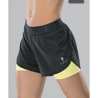 Женские спортивные шорты Fifty Intense Pro Fa-ws-0103, черный/желтый размер XS