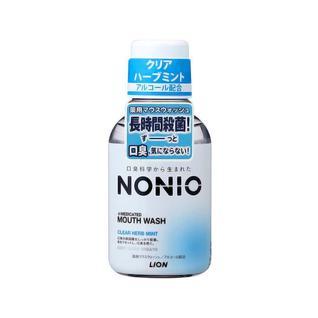 Ополаскиватель для полости рта LION NONIO аромат трав и мяты, 80 мл
