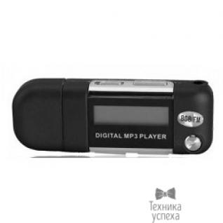 Perfeo Perfeo цифровой аудио плеер Music Strong 8 Gb, чёрный (VI-M010-8GB Black)