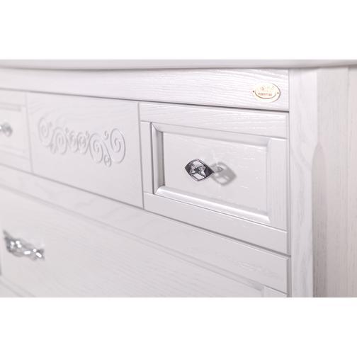 Подстолье Модерн 105 (Белый/Патина серебро) ASB-Woodline 38117076 1