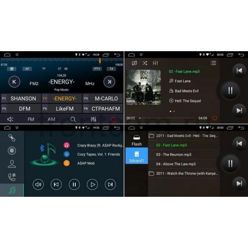Универсальная магнитола 2 DIN LeTrun 2059 Android 6.0.1 (10 дюймов) 36992819